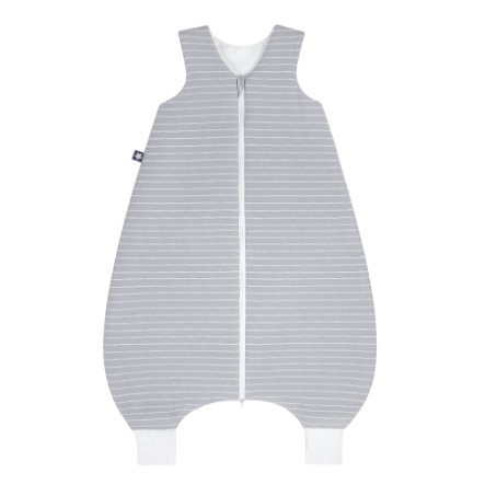 JULIUS ZÖLLNER Jersey Jumper Grey Stripes