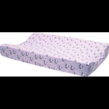 Luma® Babycare Housse de matelas à langer Racoon rose 71,5x43,5x10 cm