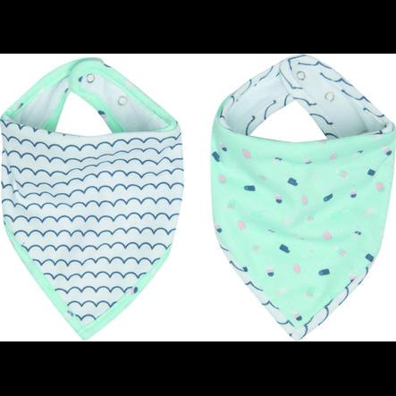 Luma® Babycare Bavaglino bandana Ice Cream pacco da 2