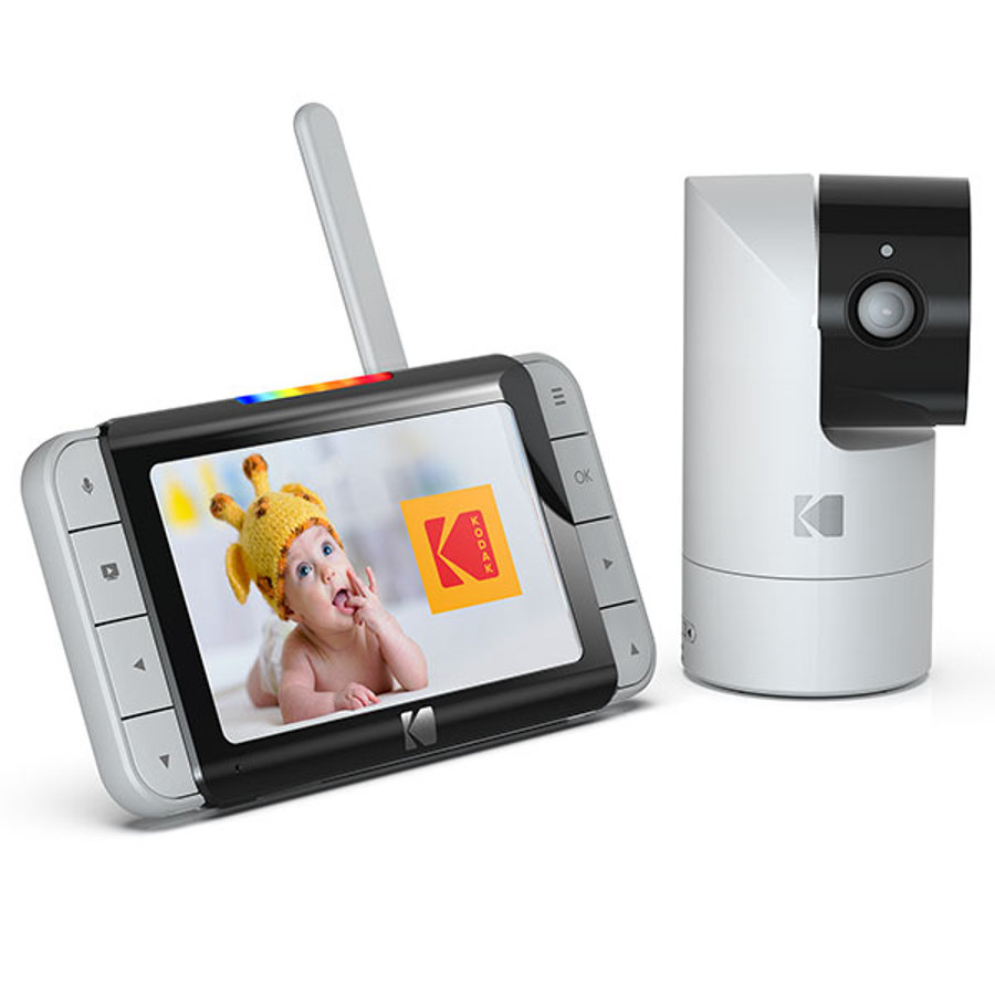 """KODAK Babyphone vidéo Cherish C525 Wi-Fi écran 5,0"""" HD"""