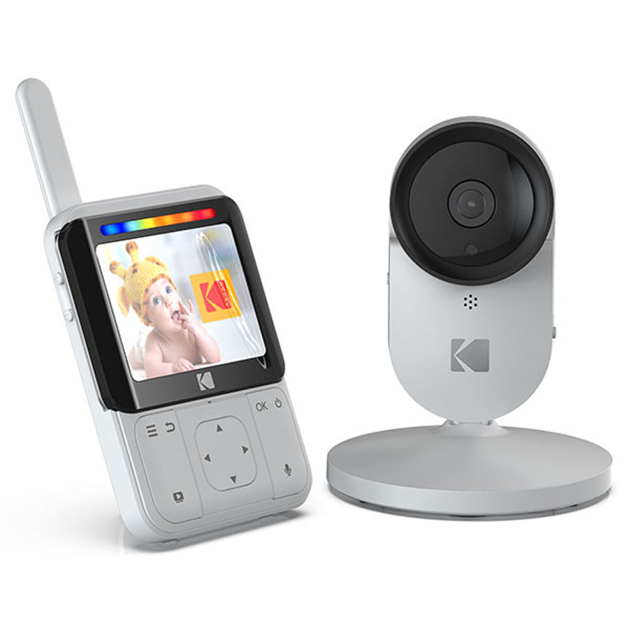 """KODAK Cherish C220 WiFi Babyalarm med kamera og 2,8"""" HD-monitor"""