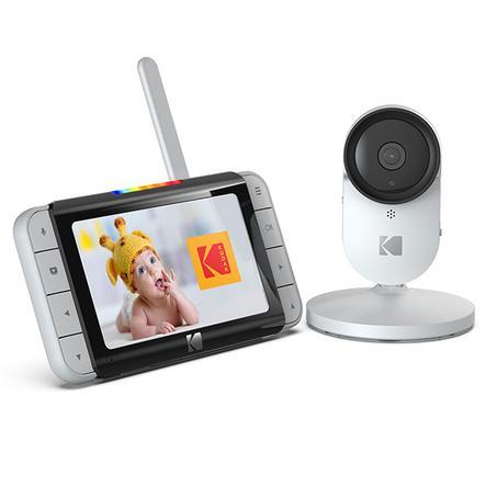"KODAK Cherish C520 WiFi Babyfoon met camera en 5,0"" HD-Monitor"