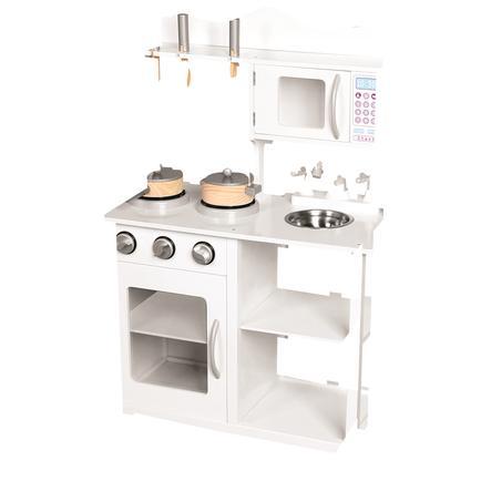 Bino Cuisine enfant Amelie bois blanche