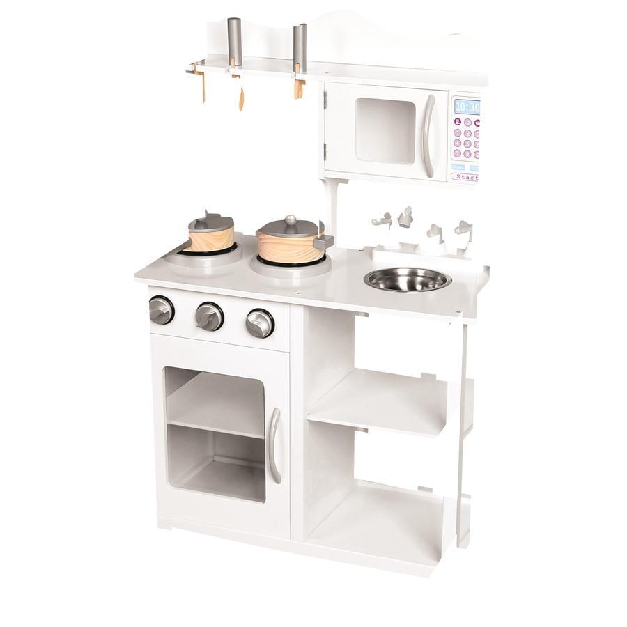 Bino Cucina Amelie in legno bianco