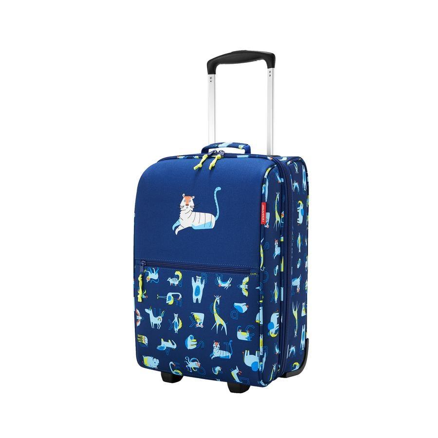 Dětská taška na kolečkách Reisenthel Trolley XS kids Abc friends blue