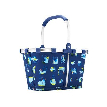 Dětský skládací nákupní košík Reisenthel Carrybag XS Kids ABC Frineds Blue