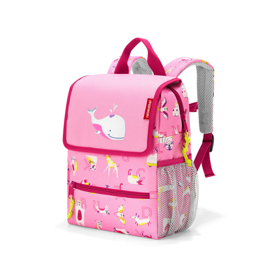 reisenthel® backpack kids abc friends pink