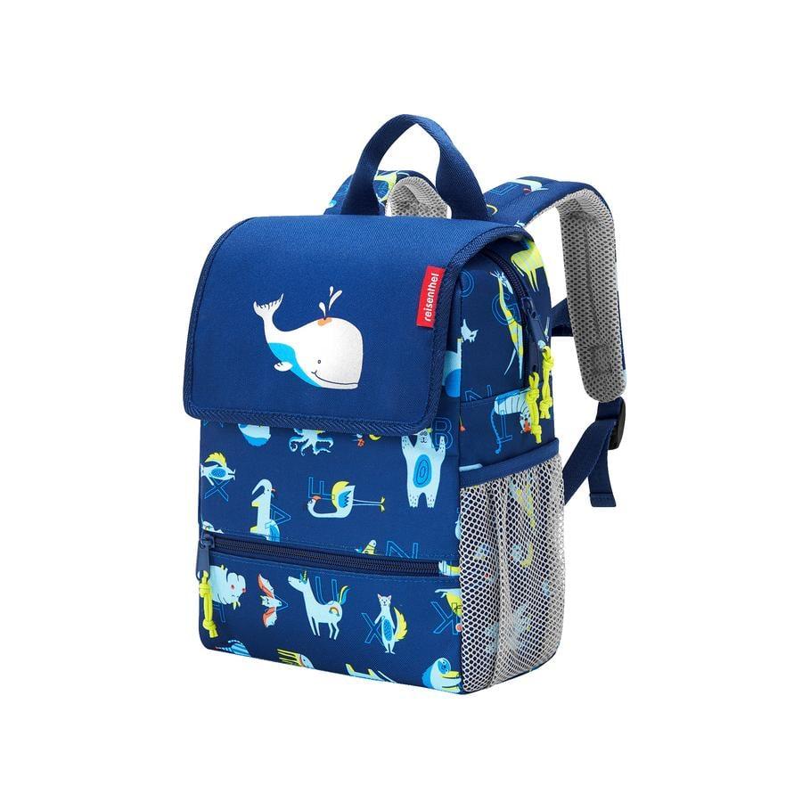 reisenthel® backpack kids abc friends, blue