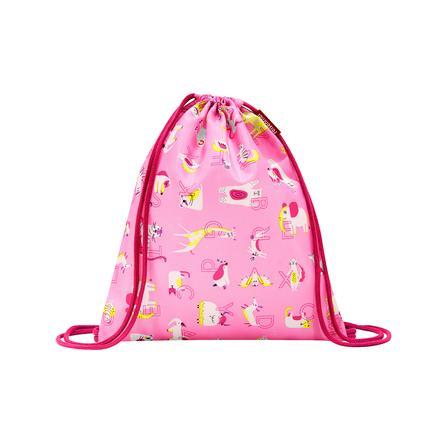 reisenthel® mysac kids abc friends pink