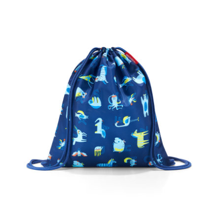 reisenthel mysac bambini abc friend s blu