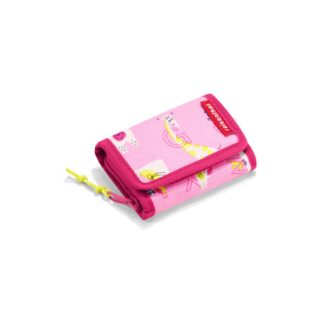 reisenthel® wallet S kids abc friends pink