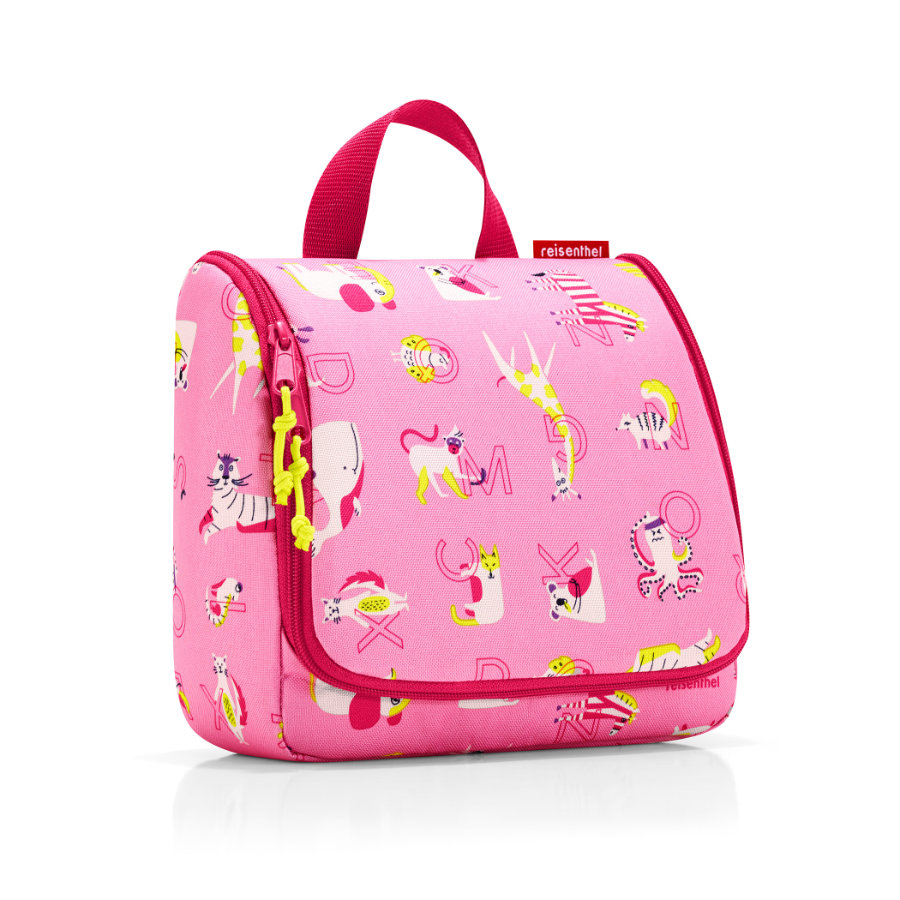 reisenthel® toiletbag kids abc friends pink