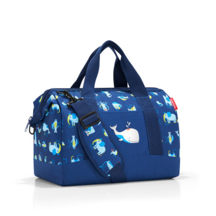 reisenthel® Sac de sport enfant M kids abc friends bleu
