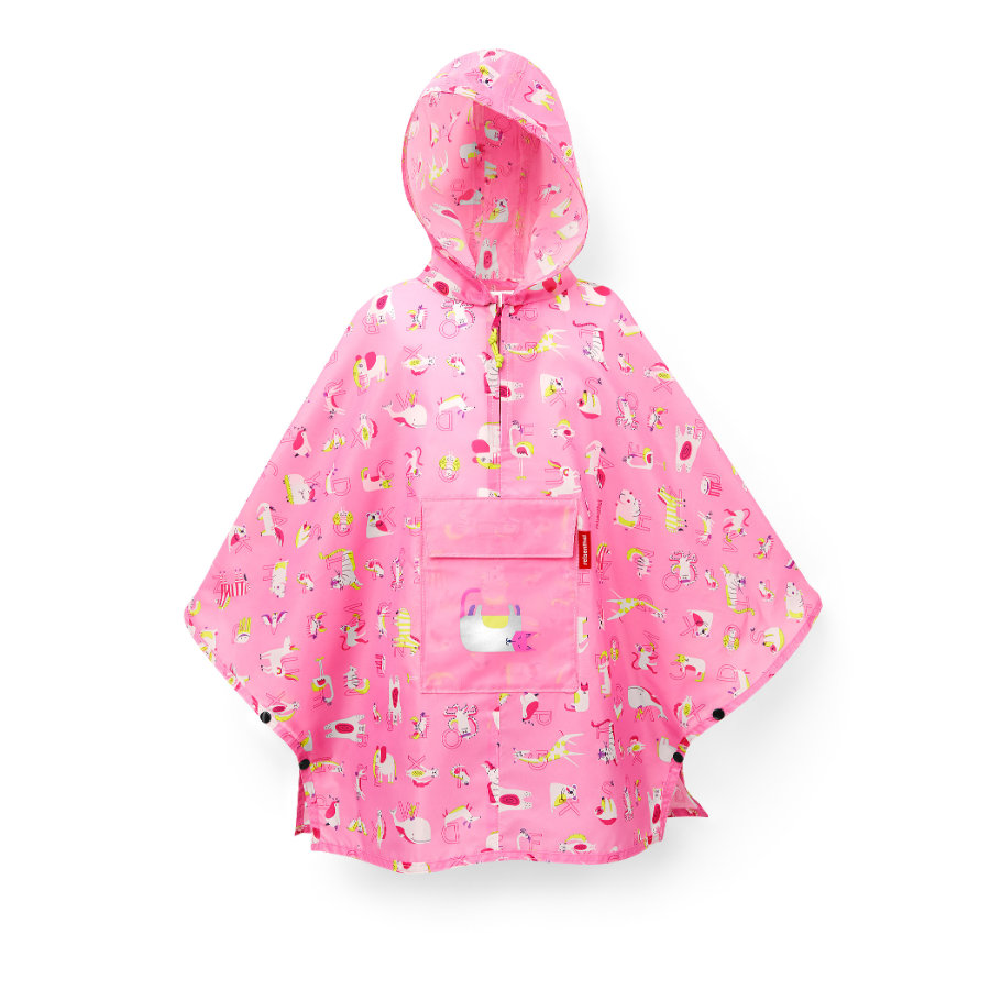 reisenthel® Chubasquero mini maxi M kids abc friends rosa
