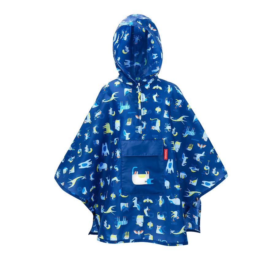 reisenthel mini maxi poncho M děti abc přátelé modrá