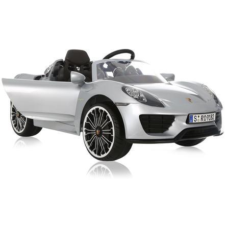 Voiture Enfant Porsche Électrique Argenté Rollplay Spyder 918 6v eQxorCBdW