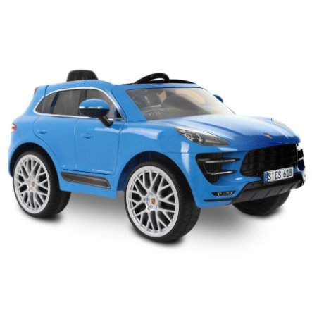 ROLLPLAY Porsche Macan Turbo 6V SUV RC, blu