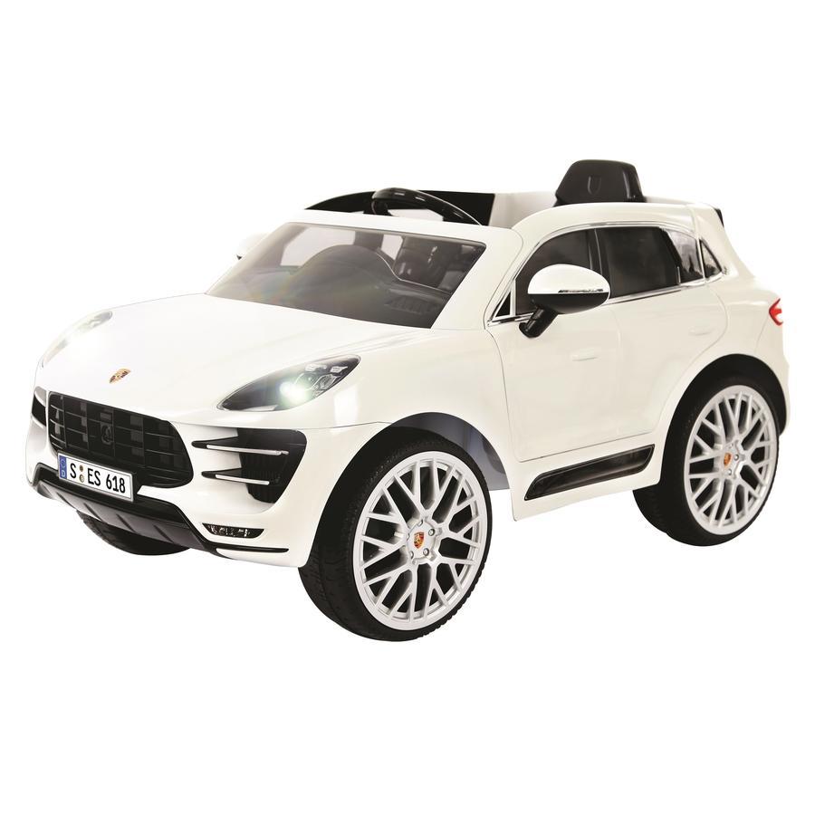 Porsche Macan Turbo >> Rollplay Sahkoauto Porsche Macan Turbo 6v Katumaasturi Rc Valkoinen