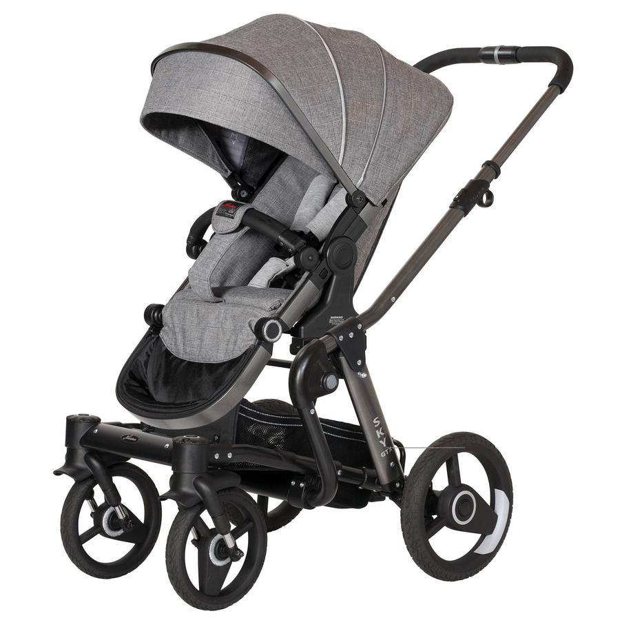 Hartan Wózek dziecięcy Sky GTX Grey Star (606) Kolor ramki platin