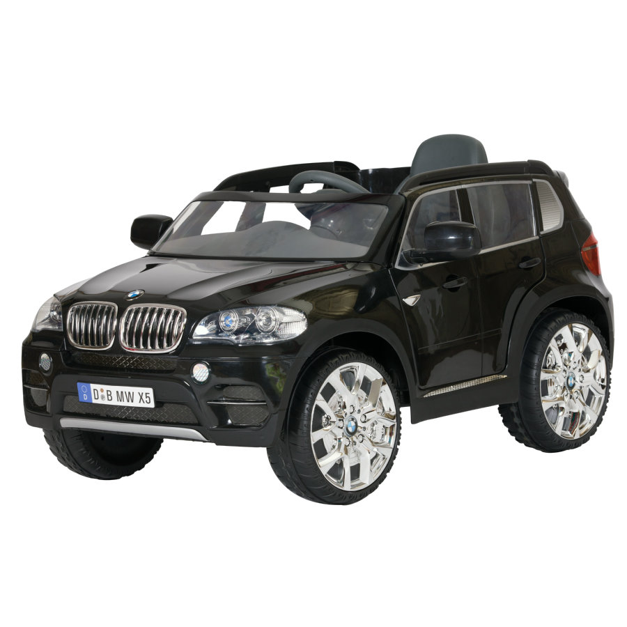 ROLLPLAY Coche eléctrico  BMW X5 SUV 6V RC, negro