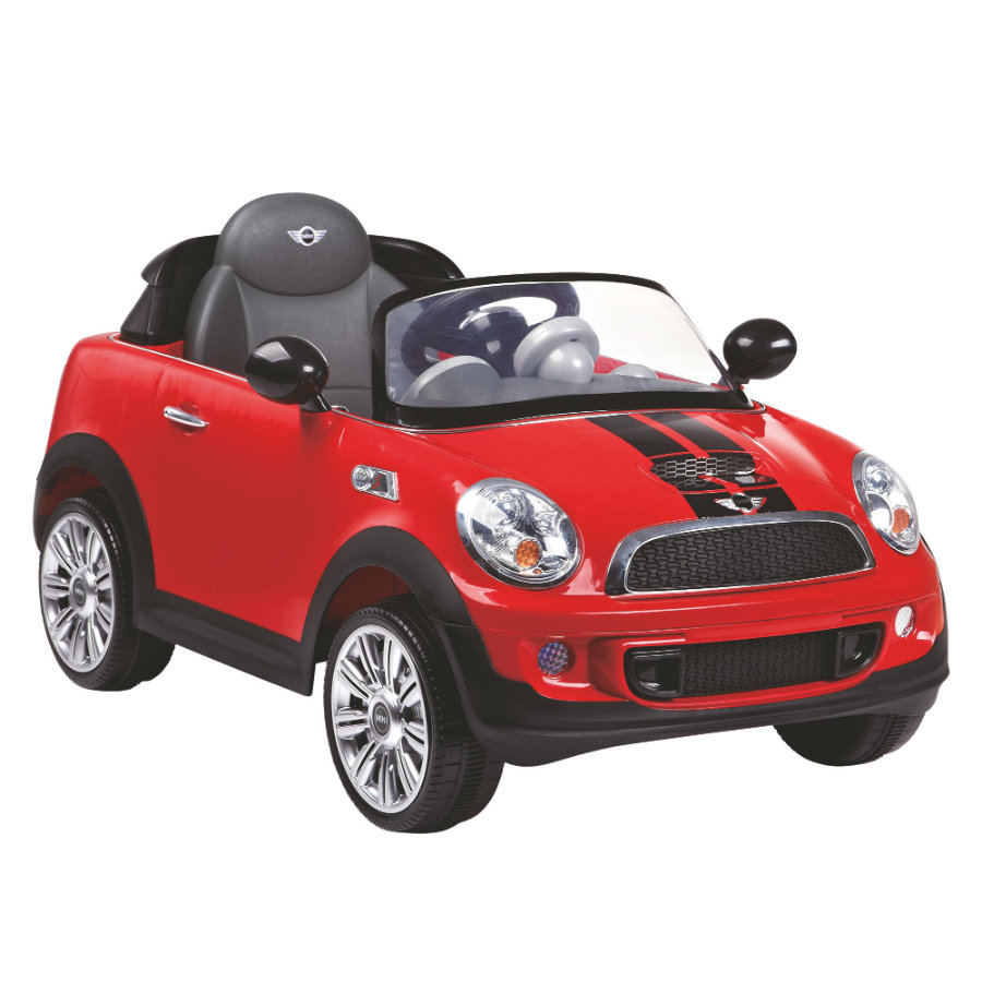 ROLLPLAY Mini Cooper S Coupe 6V RC, rosso