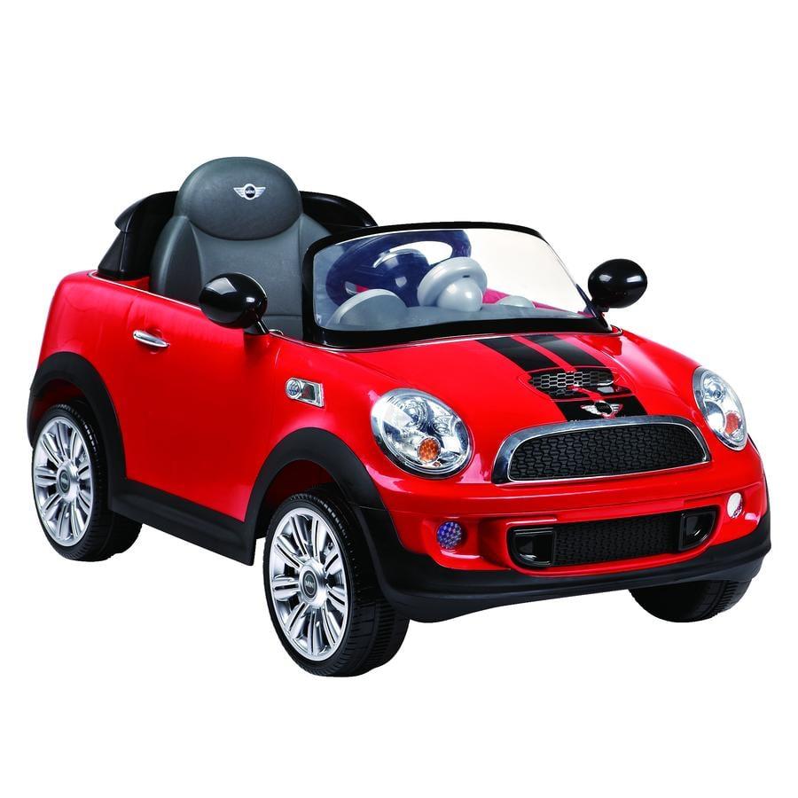 ROLLPLAY Voiture électrique enfant Mini Cooper S Coupé 6V rouge