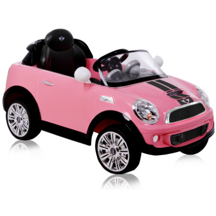 ROLLPLAY Mini Cooper S Coupe 6V RC, pink