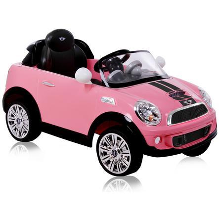 Rollplay Voiture électrique Enfant Mini Cooper S Coupé 6v Rose