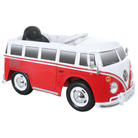 ROLLPLAY VW Bus T2 6V, červený