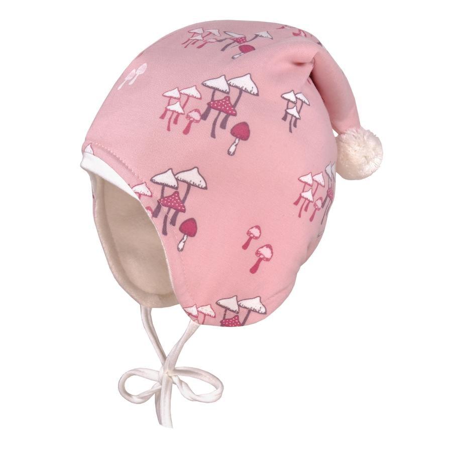 maximo Girl s champignons à capuchon pointu vieux-rose-blanc-blanc