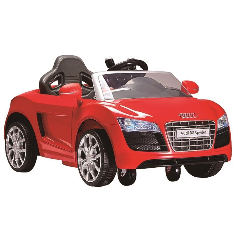 ROLLPLAY Audi R8 Spyder EZ Drive 6V rood