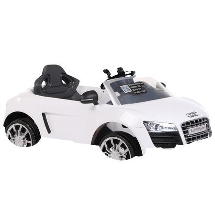 ROLLPLAY Voiture électrique enfant Audi R8 Spyder EZ Drive 6V blanc