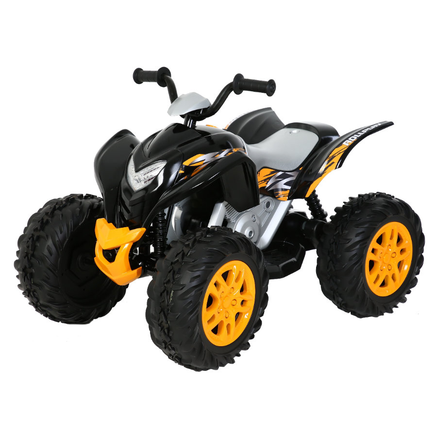 ROLLPLAY Powersport ATV 12V, schwarz -