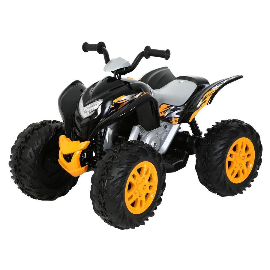 ROLLPLAY Quad enfant électrique Powersport ATV noir 12V