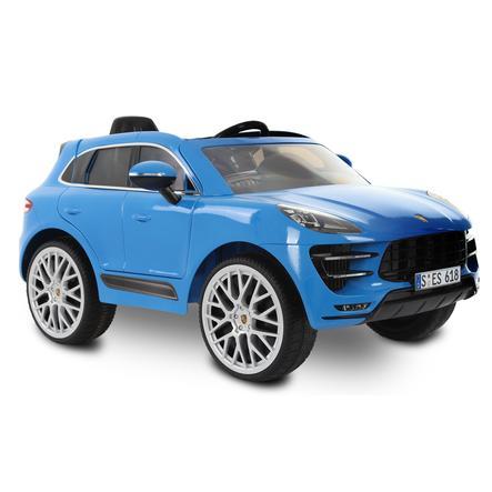 ROLLPLAY Voiture électrique enfant Porsche Macan Turbo 12V bleu