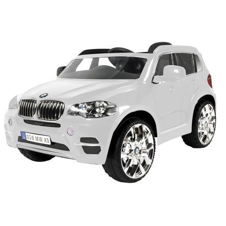 ROLLPLAY BMW X5 maastoauto 12V RC, valkoinen