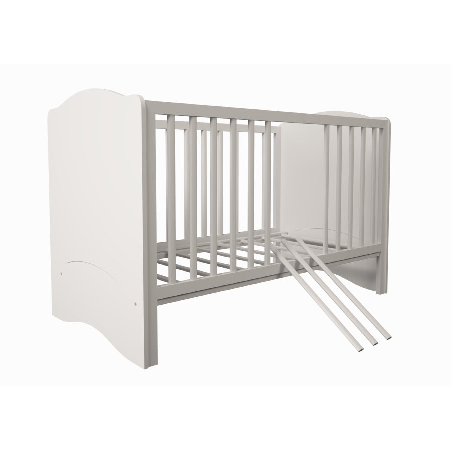 Polini Kids Lettino combi Simple bianco