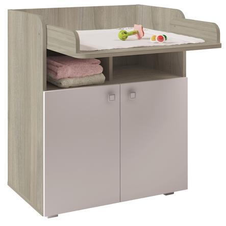 Polini Kids Baby přebalovací komoda Simple 1270 jilm/bílá