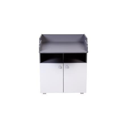 Polini Kids Wickelkommode Simple 1270 grau-weiß
