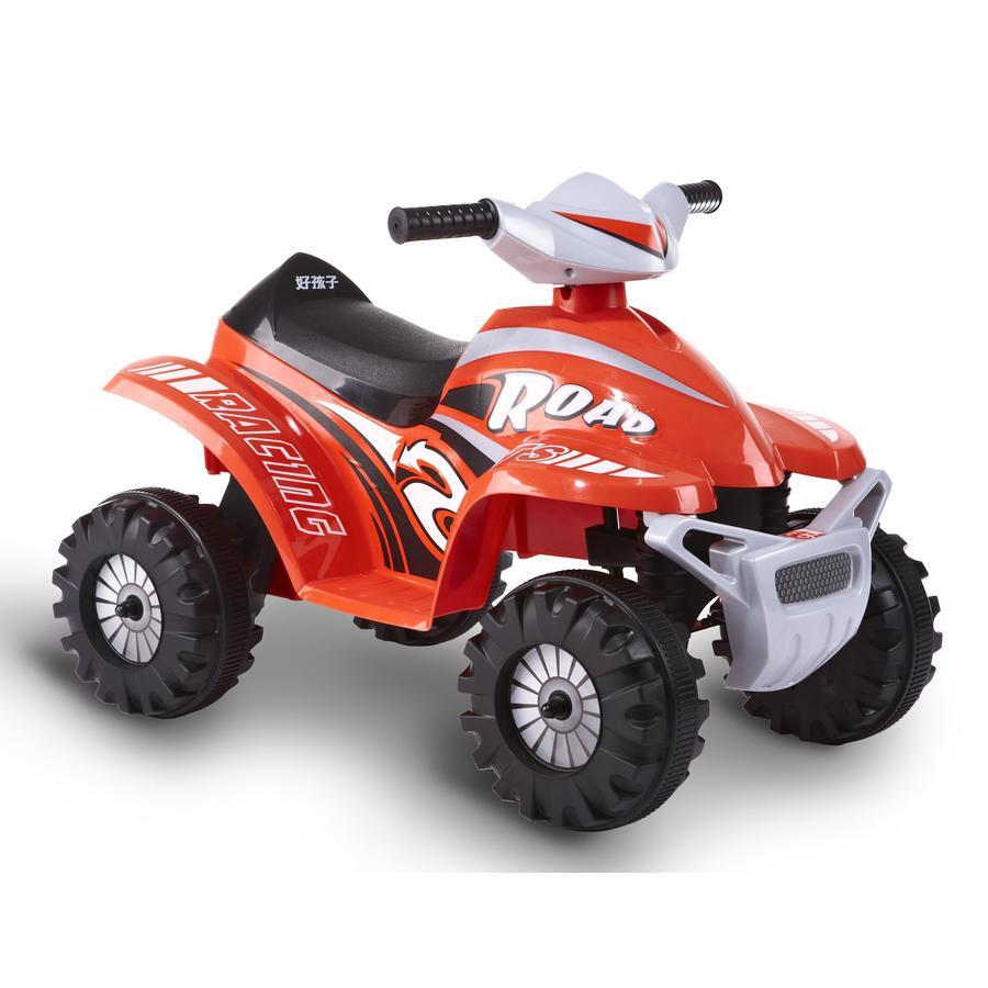 ROLLPLAY Quad électrique enfant ATV Mini 6V, rouge
