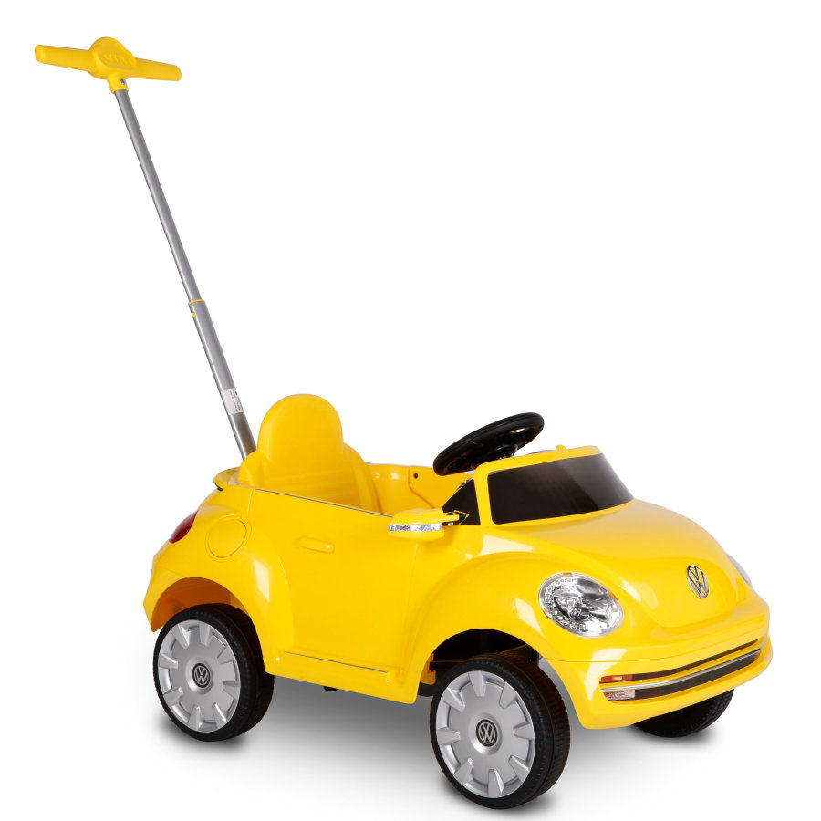 ROLLPLAY VW Beetle Push Car geel
