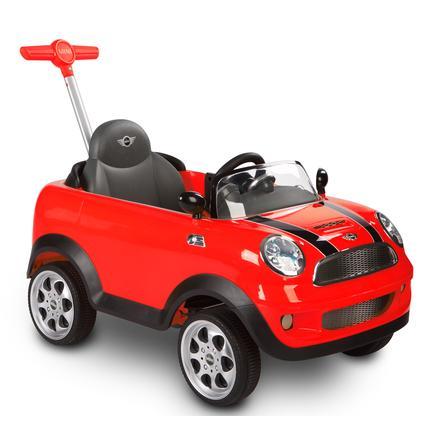 ROLLPLAY  Mini Cooper Push Car, rot