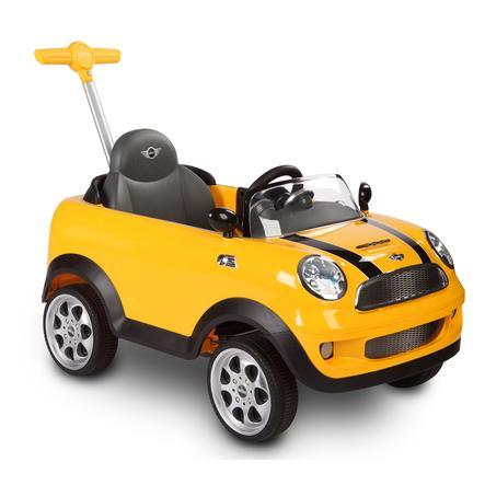 ROLLPLAY Mini Cooper cavalcabile, gialla