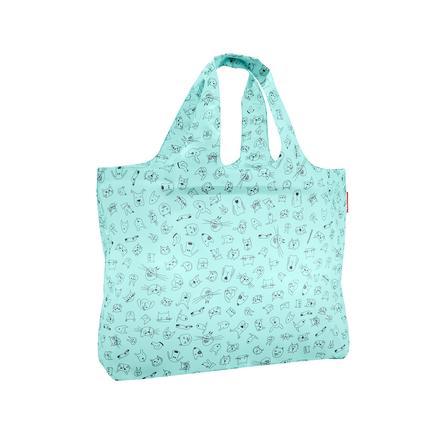 reisenthel ® mini maxi beachbag barnekatter og hunder mynte