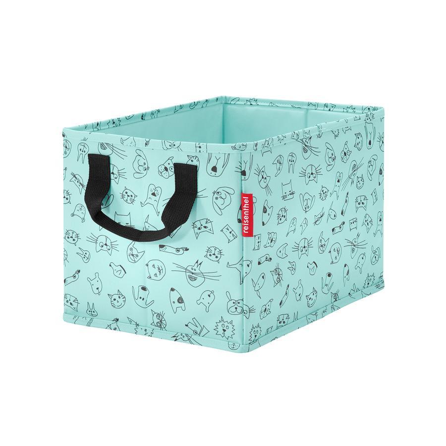 reisenthel® storagebox kids cats and dogs mint