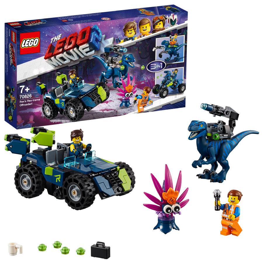"LEGO® The LEGO Movie™ 2  Vehículo todoterreno ""Rextremes"" 70826"