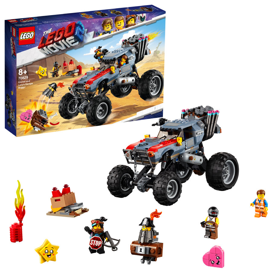 LEGO® The LEGO® Movie™ 2 Le buggy d'évasion d'Emmet Lucy 70829