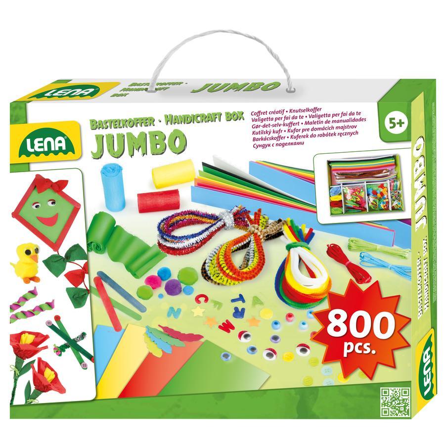 LENA® Kreativitetskuffert Jumbo, foldeæske