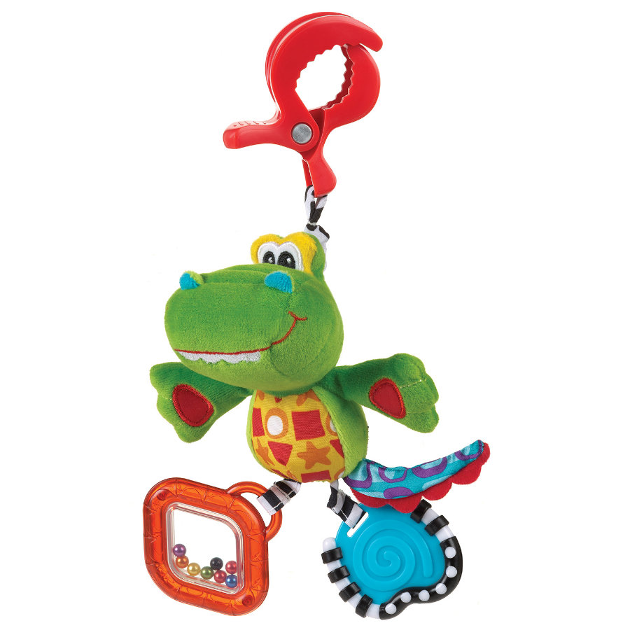 PLAYGRO Stroller Toy Snappy the Crocodile
