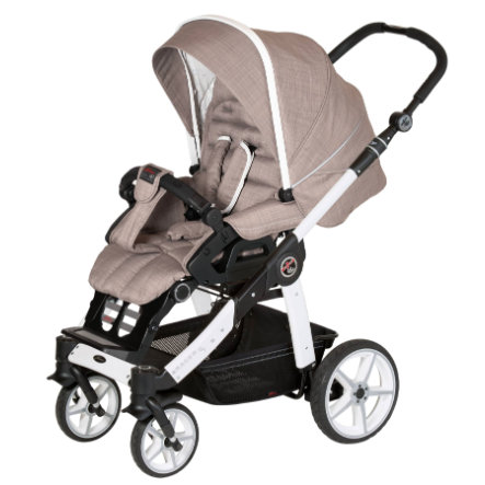 Hartan Cochecito Racer GT Little Family (636) chasis blanco